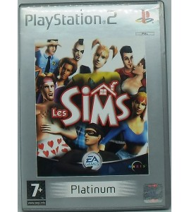 Les Sims - Platinum sur PS2 avec Notice Games And Toys