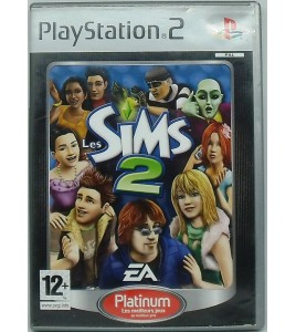 Les Sims 2 Platinum sur Playstation 2 PS2 avec Notice Games And Toys