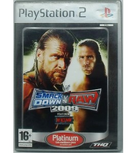 WWE Smackdown vs. Raw 2009 platinum sur Playstation 2 PS2 avec Notice Games And Toys