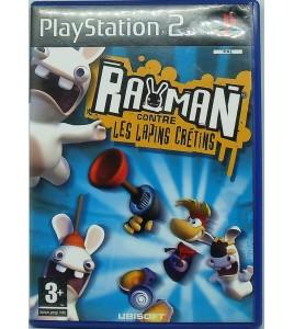 Rayman contre les Lapins Crétins sur Playstation 2 PS2 avec Notice Games And Toys