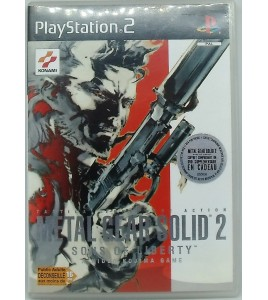 Metal Gear Solid 2  sur Playstation 2 PS2 sans Notice Games And Toys