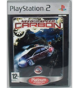 Need For Speed Carbon - Platinum sur Playstation 2 PS2 avec Notice Games And Toys