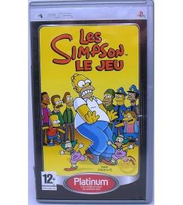 Les Simpson le jeu  Platinum sur PSP avec Notice