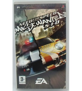 Need for speed : most wanted 5 - 1 - 0 sur PSP avec Notice