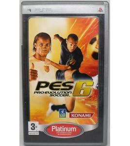 PES 2006 : Pro Evolution Soccer Platinum sur PSP avec Notice