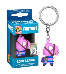 Fortnite porte-clés Pocket POP! Vinyl Loot Llama 4 cm