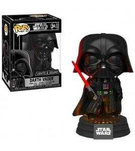 Star Wars Electronic Pop Vinyl 343 sonore et lumineuse Darth Vader 9 cm