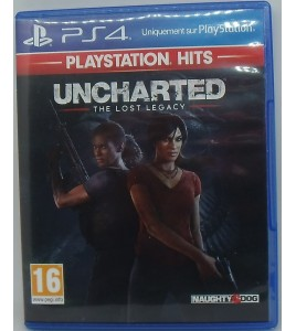 Uncharted : The Lost Legacy Hits sur PS4 Playstation 4 Sans Notice