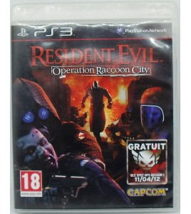 Resident Evil : Operation Raccoon City sur Playstation 3 PS3 avec Notice ME27