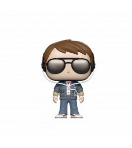 Figurine Pop Funko Retour vers le Futur - Pop Vinyl Marty w/glasses 9 cm