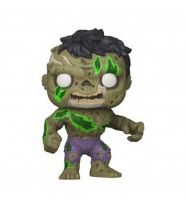 Figurine Pop Funko Marvel - Pop Zombie Hulk 9 cm