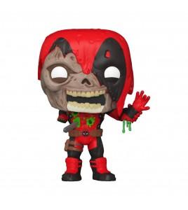 Figurine Pop Funko Marvel - Pop Zombie Deadpool 9 cm