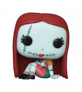 Figurine Pop Funko L´étrange Noël de Mr. Jack - Pop Disney Sally Sewing 9 cm