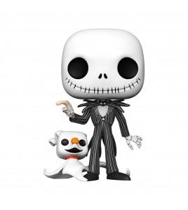 Figurine Pop Funko L´étrange Noël de Mr. Jack - Pop Disney Jack w/Zero 25 cm