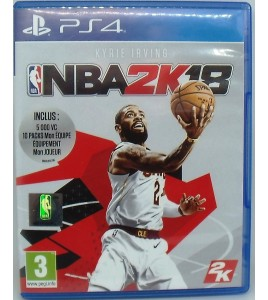 NBA 2K18 sur Playstation 4 PS4 sans Notice