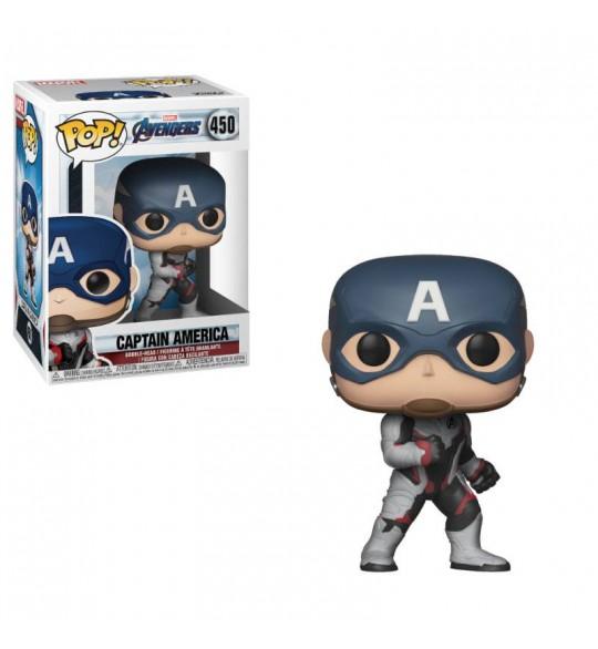 Avengers Endgame Pop Vinyl 450 Captain America 9 cm