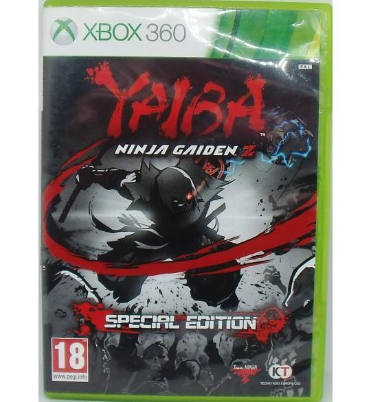 Yaiba : Ninja Gaiden Z  sur Xbox 360 avec Notice Games And Toys