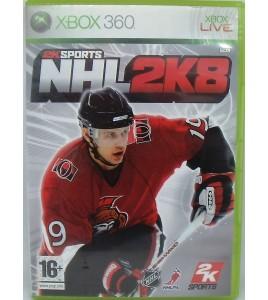 NHL 2K8 sur Xbox 360 avec Notice Games And Toys