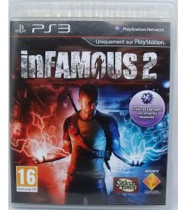 InFamous 2 sur Playstation 3 PS3 avec Notice