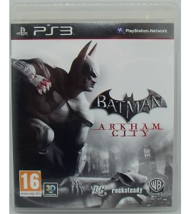 Batman Arkham City sur Playstation 3 PS3 avec Notice