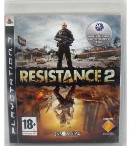 RESISTANCE 2 sur Playstation 3 PS3 avec Notice