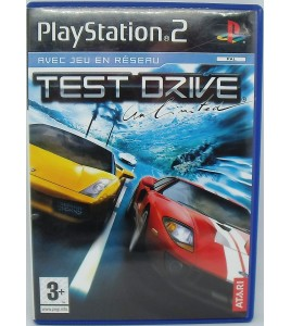 Test Drive Unlimited sur Playstation 2 PS2 sans Notice Games And Toys
