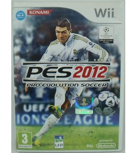 PES 2012 : Pro Evolution Soccer sur Nintendo WII avec Notice