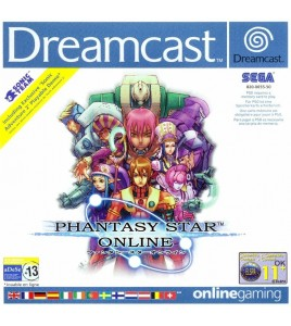 Phantasy Star Online sur Dreamcast