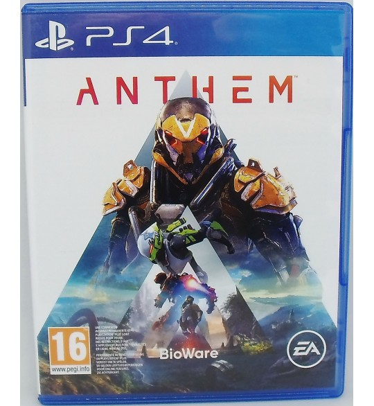 Anthem sur PS4 Playstation 4 Sans Notice