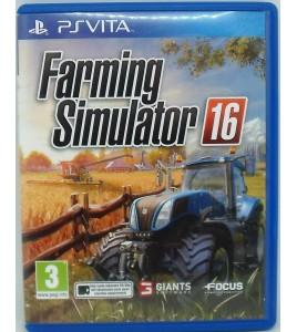 Farming Simulator 16 sur Playstation Vita PS Vita avec Notice