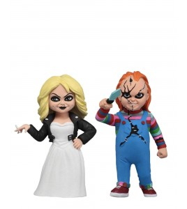La Fiancée de Chucky pack 2 figurines Toony Terrors Chucky & Tiffany 15 cm
