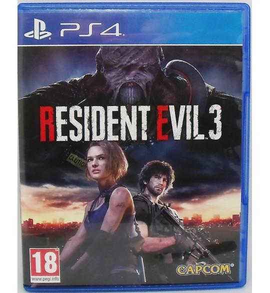 Resident Evil 3 sur PS4 Playstation 4  Sans Notice AG25