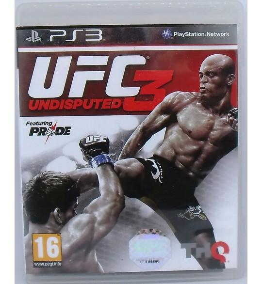UFC Undisputed 3 sur Playstation 3 PS3 avec Notice