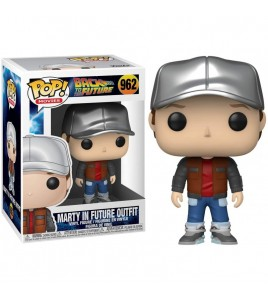 Retour vers le Futur Pop Vinyl 962 Marty in Future Outfit 9 cm
