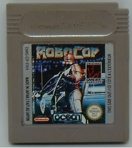 Robocop sur Game Boy GB42