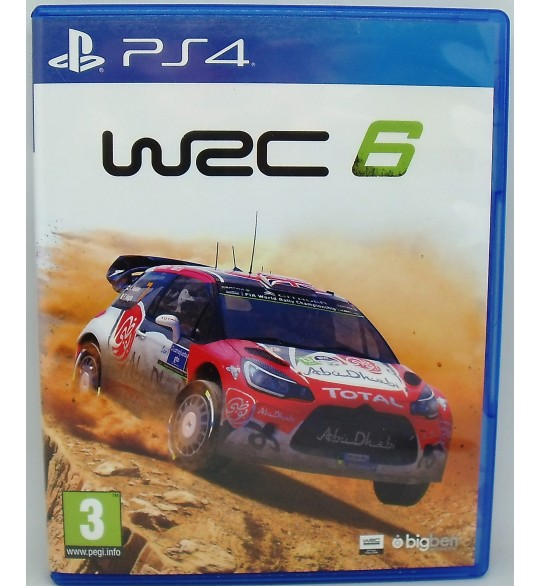 WRC 6 sur PS4 Playstation 4  Sans Notice