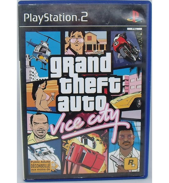 GTA : Vice City sur Playstation 2 PS2 avec Notice MA69 Games And Toys