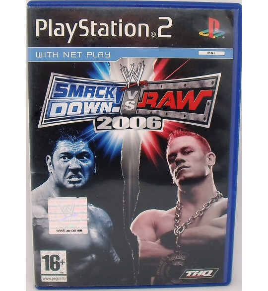 WWE Smack Down VS Raw 2006 sur Playstation 2 PS2 avec Notice MA74 Games And Toys