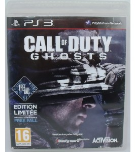 Call Of Duty : Ghosts  sur Playstation 3 PS3 sans Notice