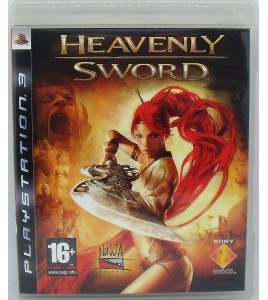 Heavenly Sword  sur Playstation 3 PS3 avec Notice