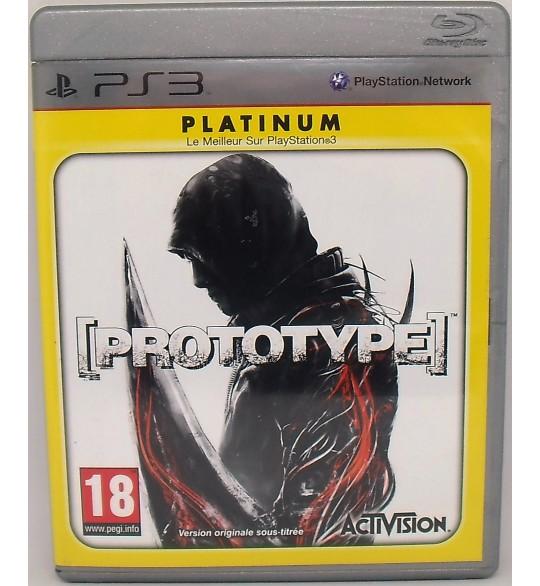 Prototype - platinum sur Playstation 3 PS3 avec Notice
