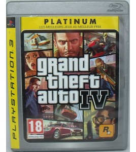 GTA IV Grand Theft Auto 4 sur Playstation 3 PS3 avec Notice  et Carte