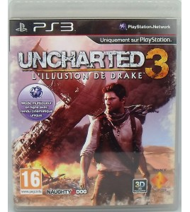 Uncharted 3 : Drake's Deception sur Playstation 3 PS3 avec Notice