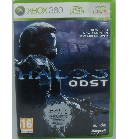 Halo 3: ODST Import Anglais sur Xbox 360 avec Notice Games And Toys