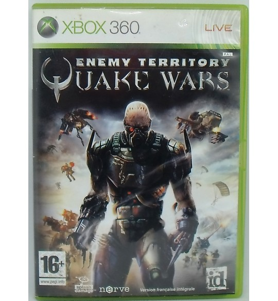 Enemy territory : Quake wars sur Xbox 360 avec Notice Games And Toys