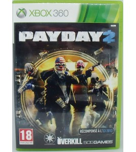 PayDay 2 sur Xbox 360 avec Notice et Carte Games And Toys