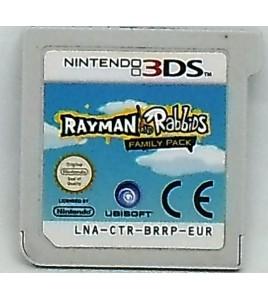 Rayman et les Lapins cretins - pack famille sur Nintendo 3DS  & 2DS Gaes And Toys L143