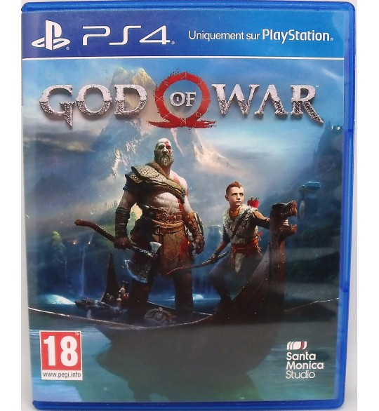 God Of War sur Playstation 4 sans Notice  Games and Toys