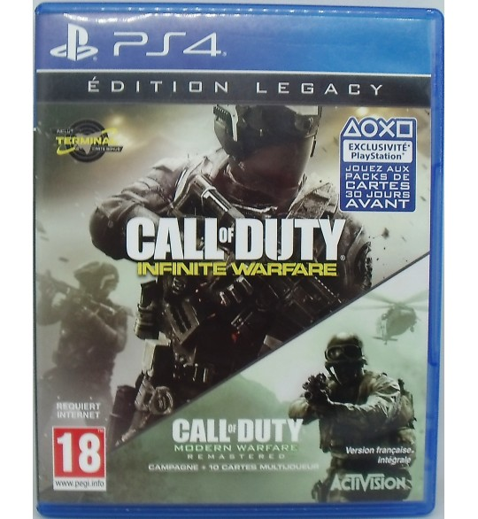 Call of Duty : Infinite Warfare - Edition Legacy sur Playstation 4 sans Notice  Games and Toys