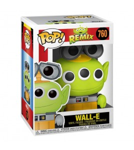 Pixar   Pop Disney Vinyl 760 Alien as Wall-E 9 cm